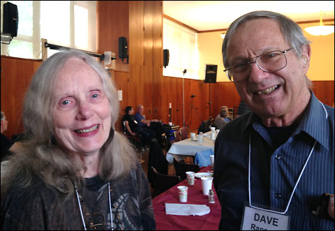 Jane Franklin and Dave Ransom.